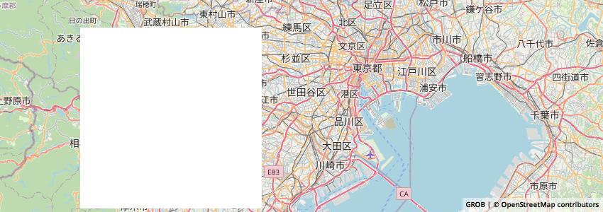 Mappa Jikonkatokyo