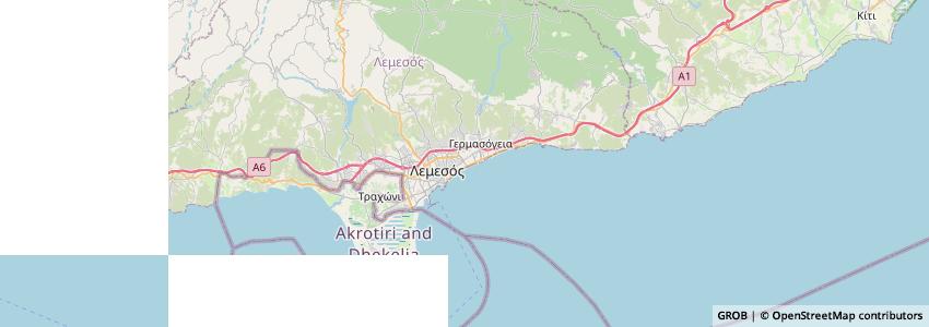 Mappa Kawase