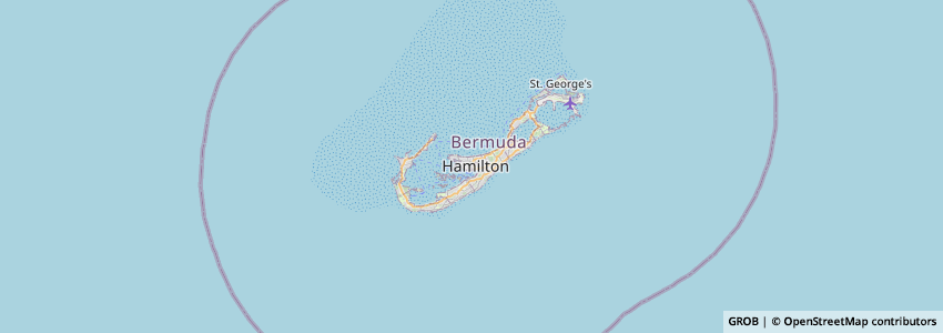 Mappa Big Brothers Big Sisters Of Bermuda