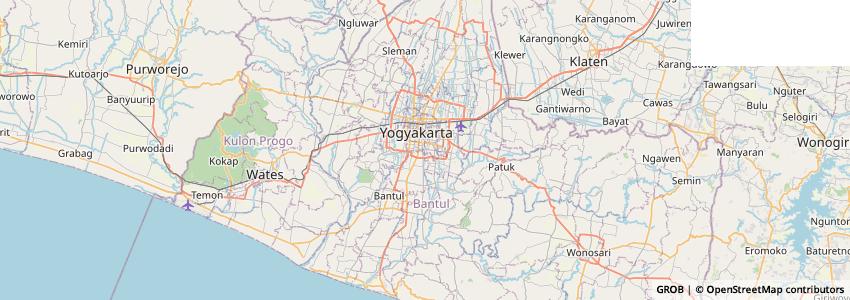 Mappa Jogjasite.com