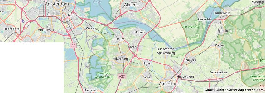 Mappa Volksuniversiteit Het Gooi