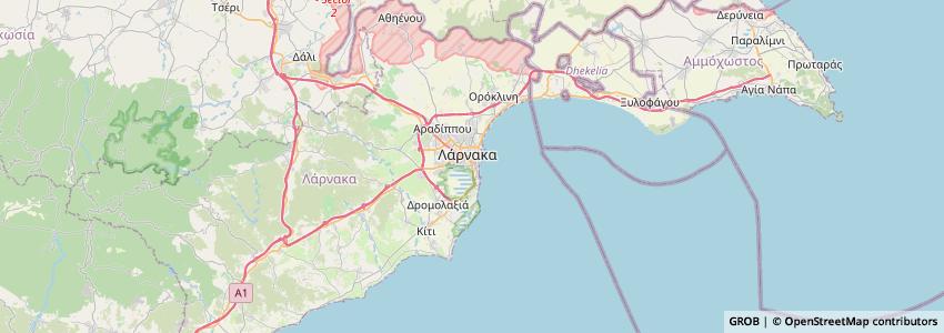 Mappa Cyprus Airways