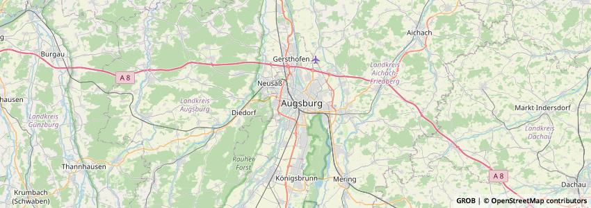 Mappa Yorma'S Ag Augsburg