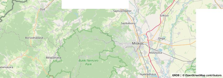 Mappa Miskolci Állatkert És Kultúrpark