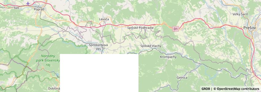 Mappa Bopeplus.sk