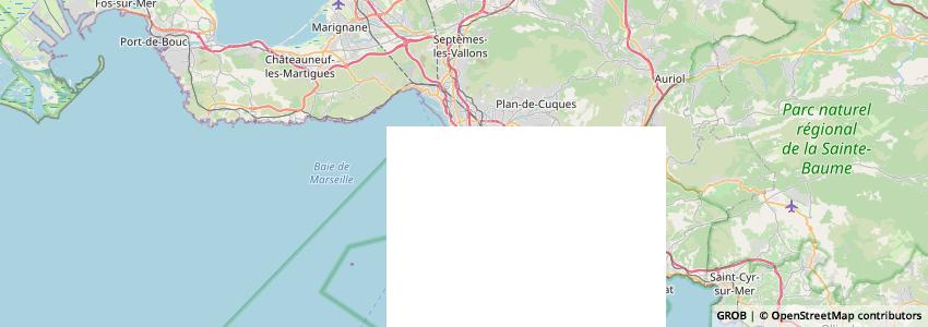 Mappa Cymbeline Marseille