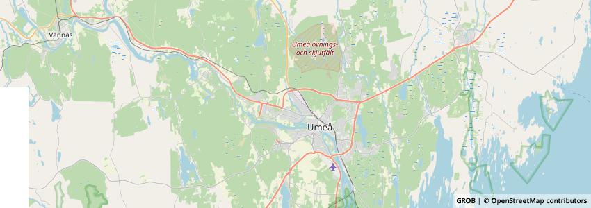 Mappa Getcamping.se