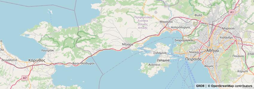 Mappa Domaine Evharis - Κτήμα Εύχαρις