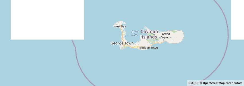 Mappa Royal Cayman Islands Police Service (RCIPS)