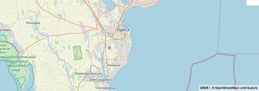 Mappa Ок Одесса / Ok Odessa Hotel Complex