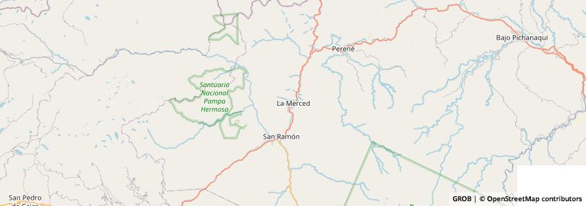 Mappa Angel Adventure Tours