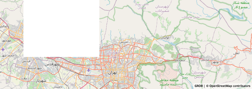 Mappa Kitline
