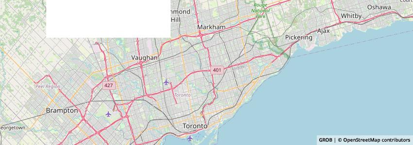 Mappa Cit Canada