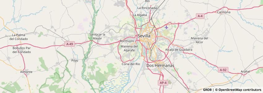 Mappa Spainaqua