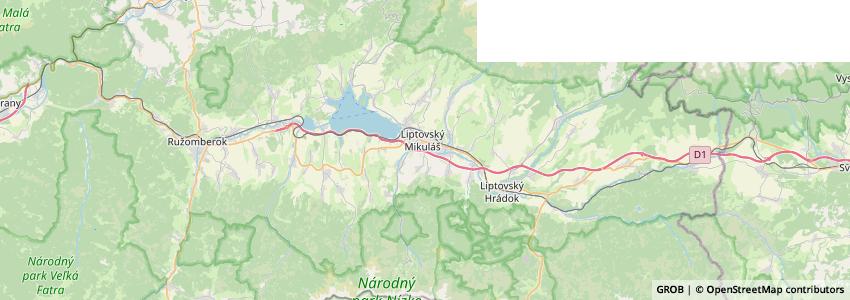 Mappa Canoe Liptov