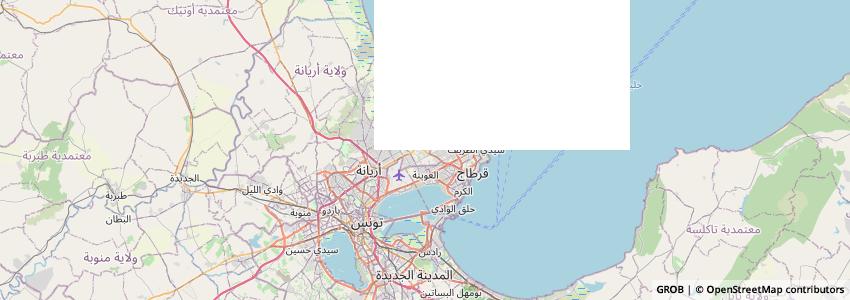Mappa Brazilian Blowout Tunisie