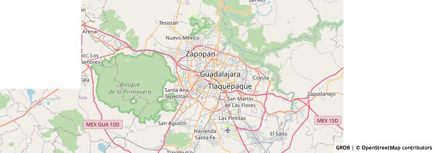 Mappa Tequila Plus