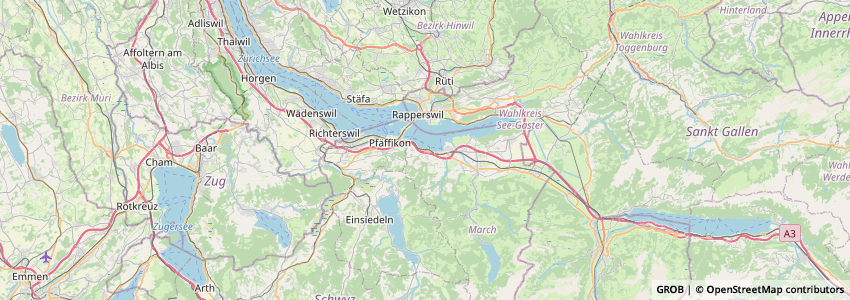Mappa Obersee-Praxis