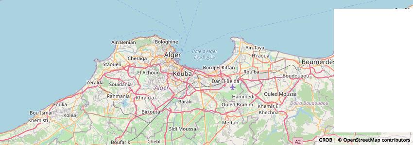 Mappa الصالون الدولي للكتاب بالجزائر Salon International Du Livre D'alger