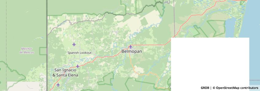 Mappa Belize Internet Marketing & Website Design