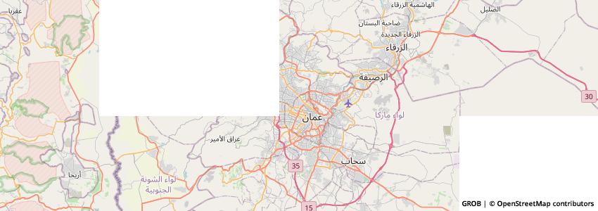 Mappa الاتحاد الأردني لشركات التأمين   Jif - Jordan Insurance Federation