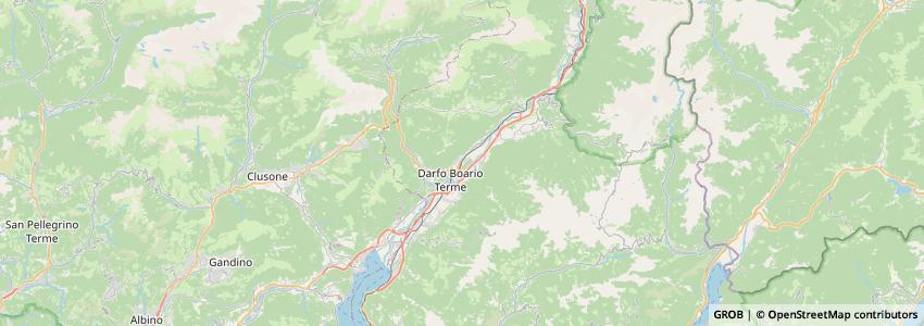Mappa Più Valli Tv