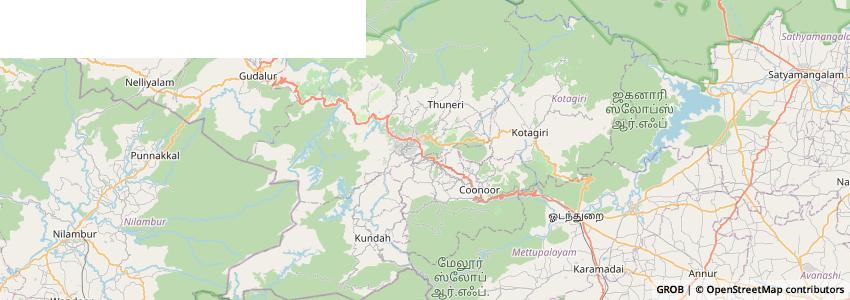 Mappa Fairstay Ooty