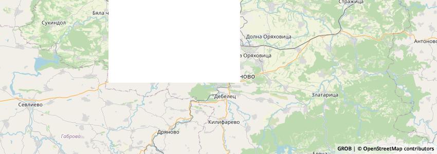 Mappa Agrostore.bg