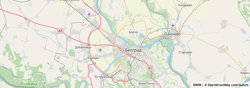 Mappa Marina Sv. Nikola
