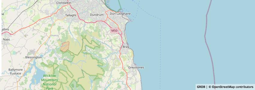 Mappa Bray Wanderers
