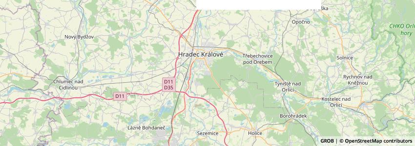 Mappa Domov U Biřičky
