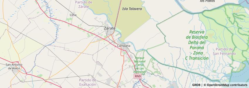 Mappa El Talar